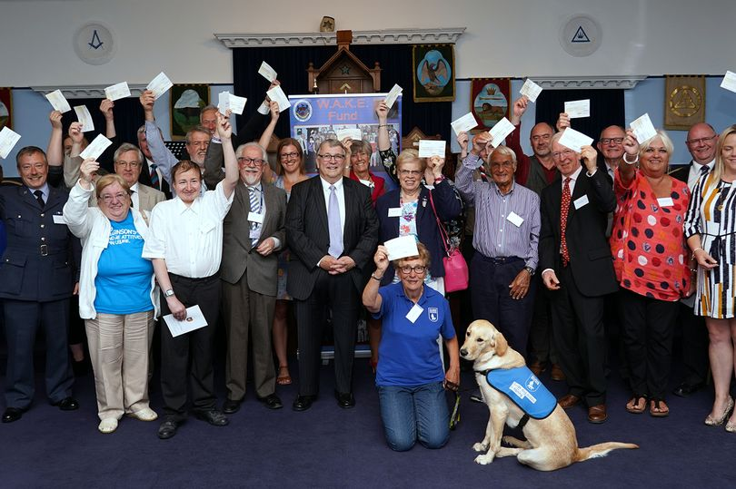 England - Devon Freemasons give £25,000 support to local charities and organisations