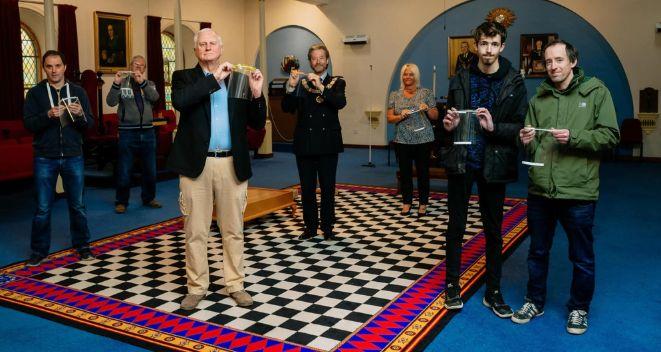 England - Shropshire's Freemasons donate £44,000 to food banks