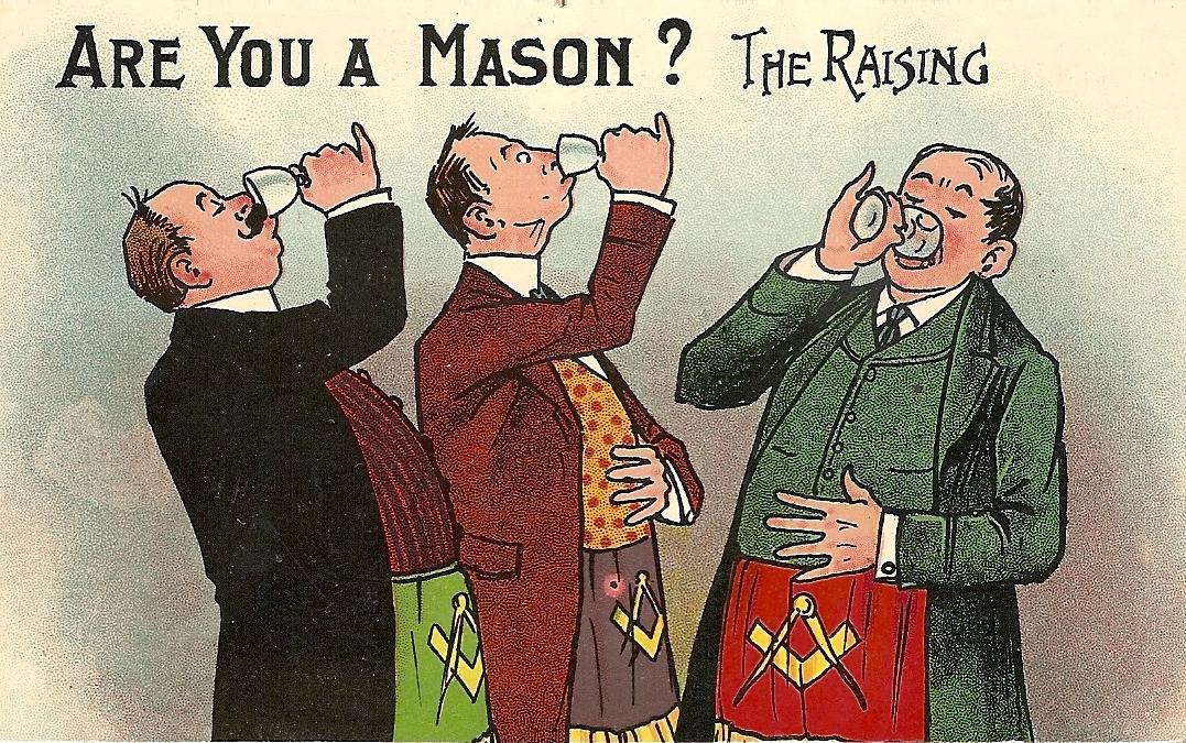 ALCOHOL AND MASONRY