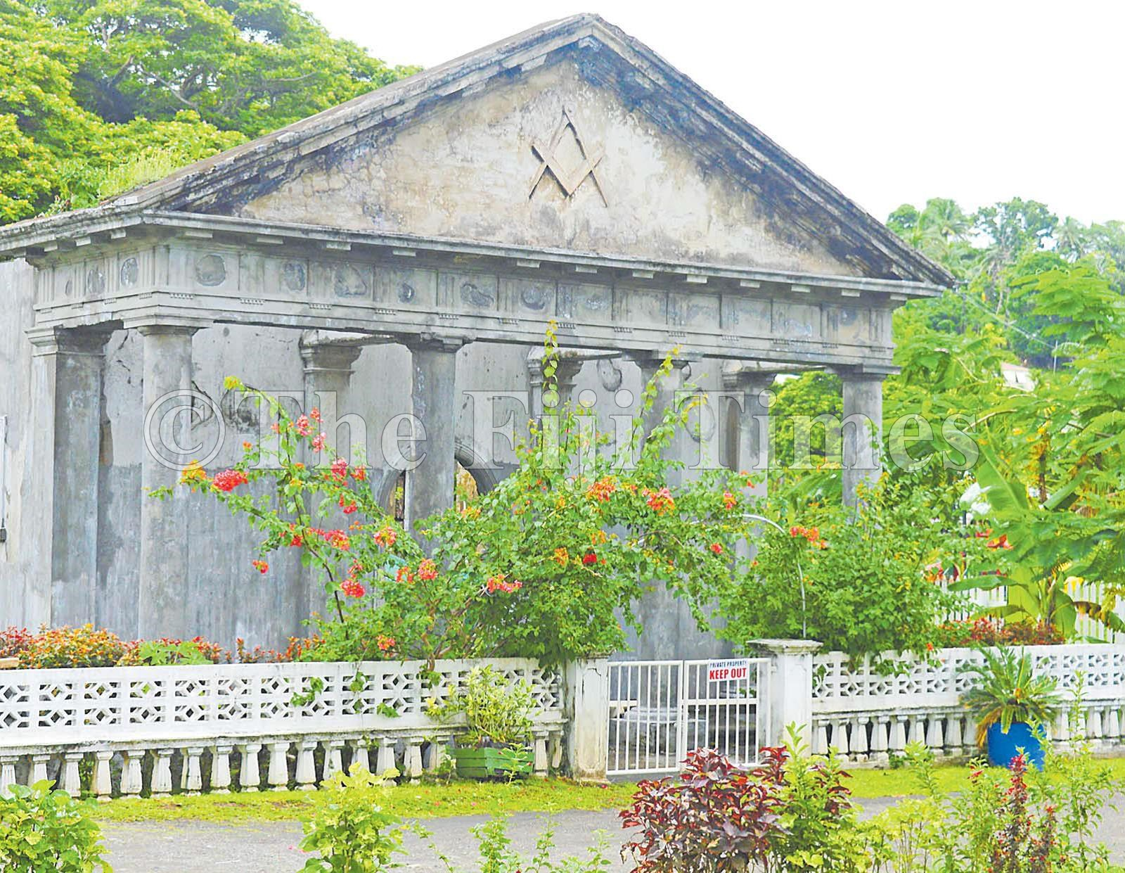 Fiji - Freemasons' birth at high noon