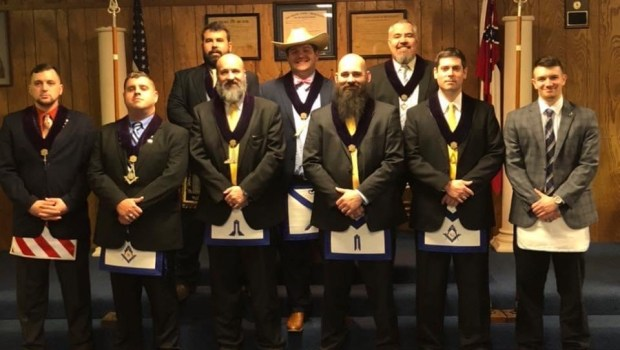 US - Oxford Freemason Group Raise Funds for CASA of Lafayette County and Boy Scouts