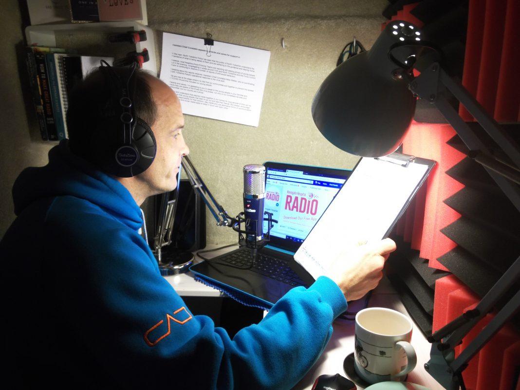 England - Harrogate Hospital Radio gets £1k broadcasting boost from town's Freemasons