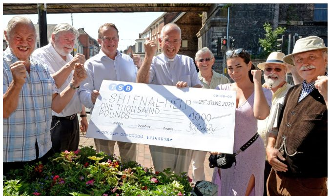 England - Community group helping vulnerable Shifnal people receives £1,000 boost from returning Freemasons