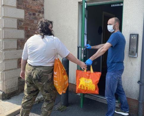 England - Blackburn with Darwen: Masons help Nightsafe help homeless