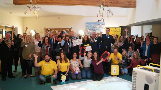 England - Freemasons' cash helps children with life-limiting illnesses in Cornwall