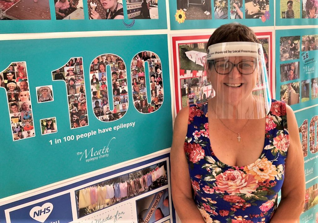 England - Surrey Freemasons Deliver 2,500 PPE Visors in a Day to Help Local Charities