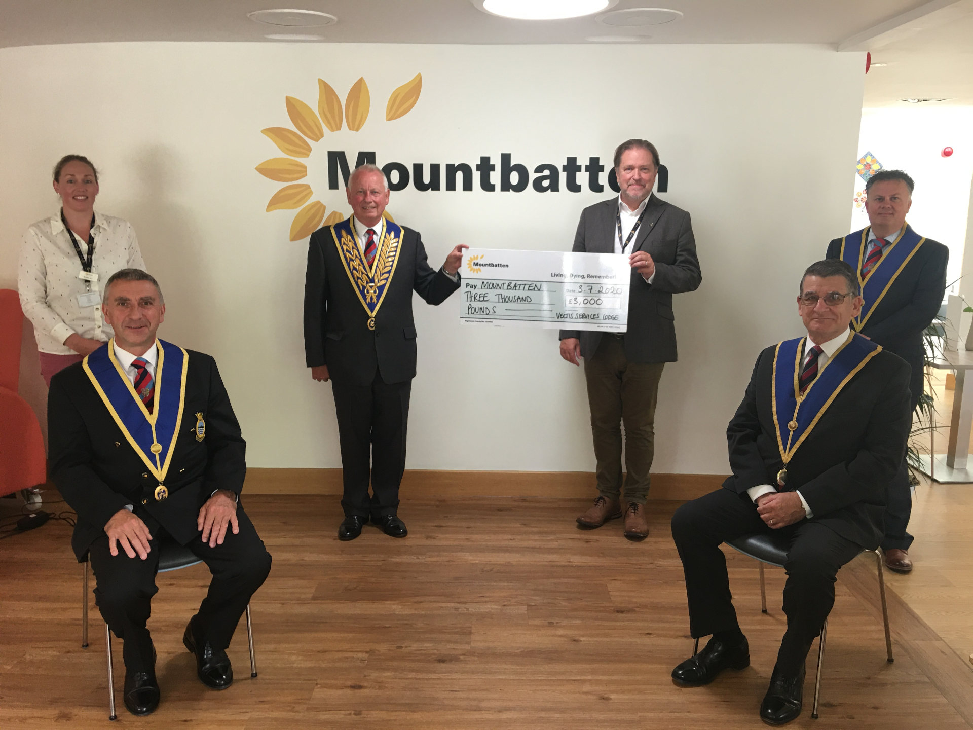 Isle of Wight - Cash boost for Mountbatten thanks to Freemasons
