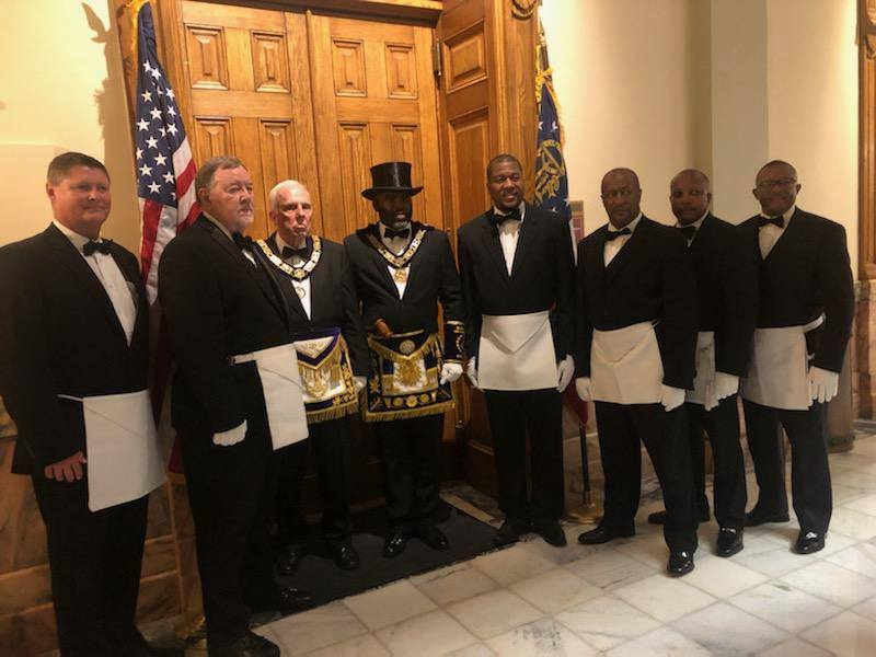 US - John Lewis Funeral Brings Georgia's Grand Lodges Together