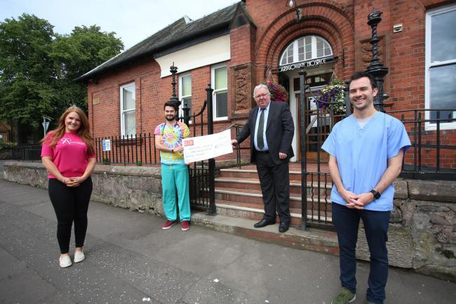 Scotland - Freemasons donate over £15,000 to local good causes