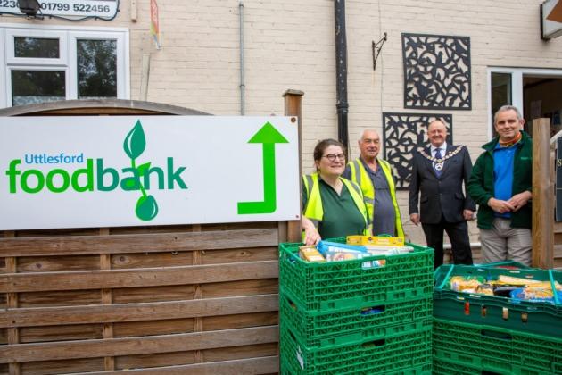 England - Uttlesford Foodbank support from Saffron Walden Freemasons