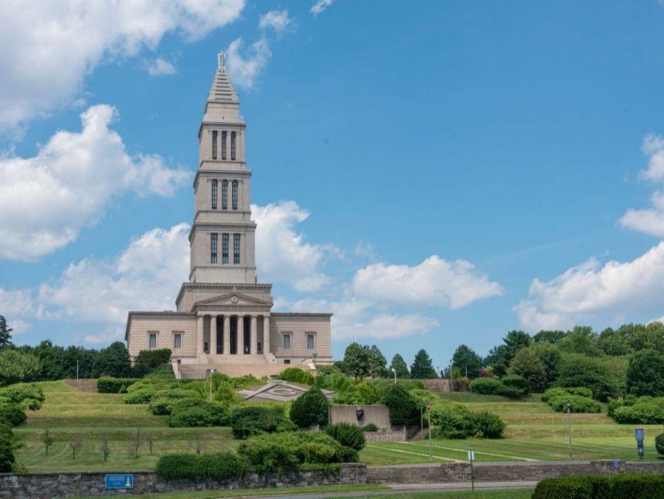 US - George Washington Masonic National Memorial Is Open In Alexandria