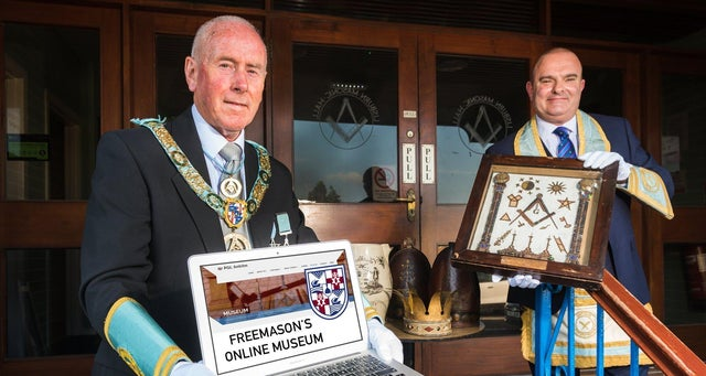 Northern Ireland - Freemasons complete online legacy during Covid-19 Lockdown