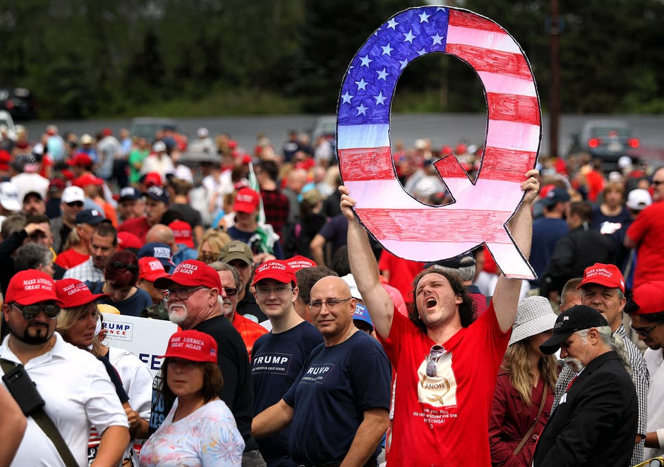 Facebook removes thousands of pages linked to Qanon conspiracy theory