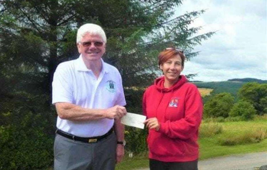 Scotland - Local Freemasons get behind Moray School Bank