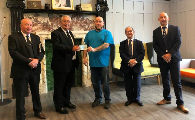 Scotland - Cash from Freemasons helps struggling families through tough times
