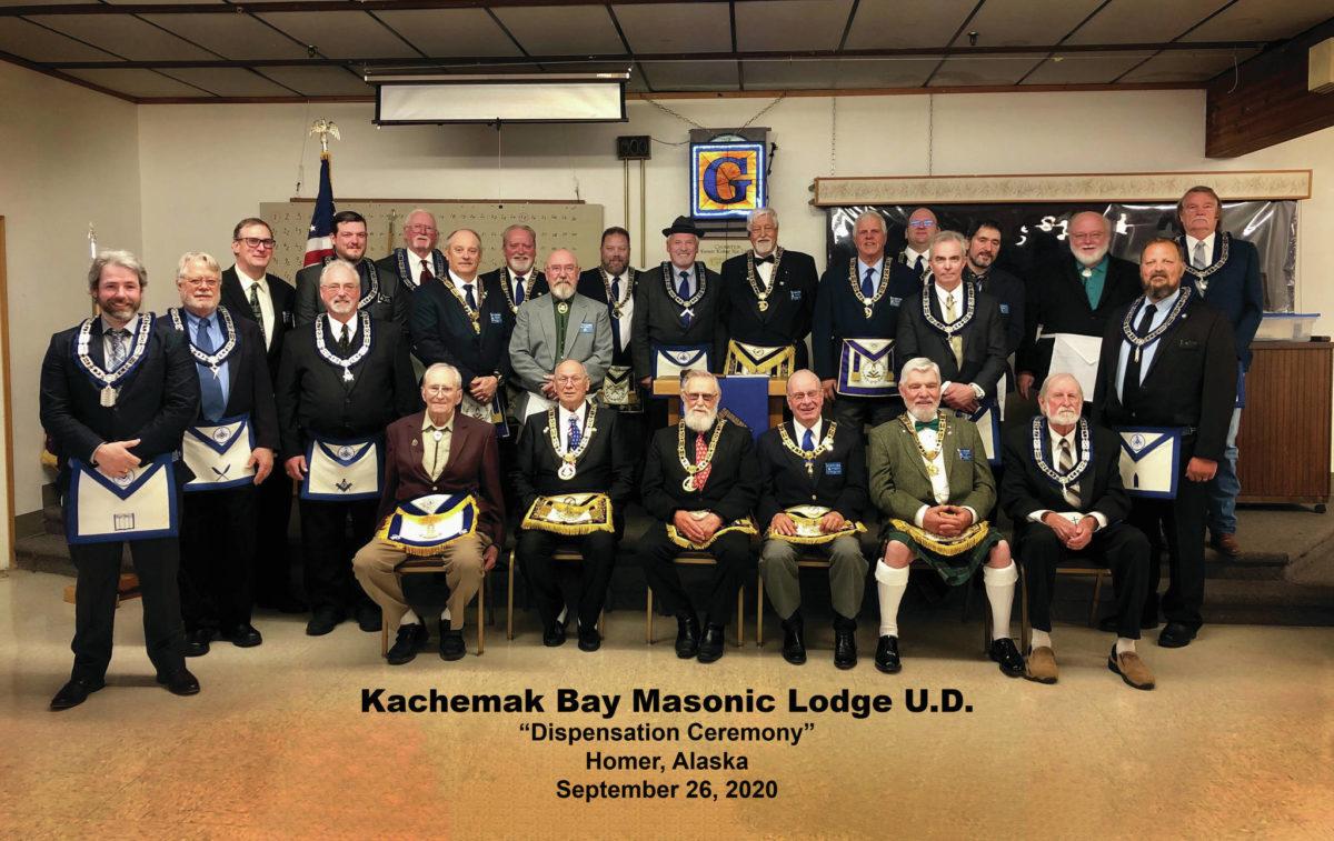 Alaska/US - Kachemak Bay Masons granted dispensation