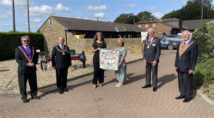 England - £17k grant from Freemasons for Martha Trust's homes
