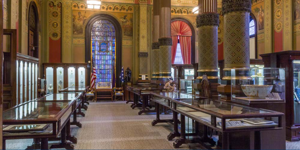 Masonic Library And Museum Of Pennsylvania Reopens For Limited Public Tours