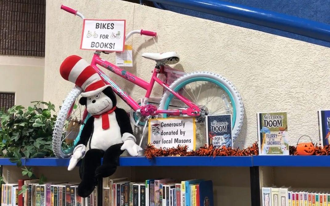 Utah/US - 68 bikes awarded to local students through Masonic Lodge's reading incentive program