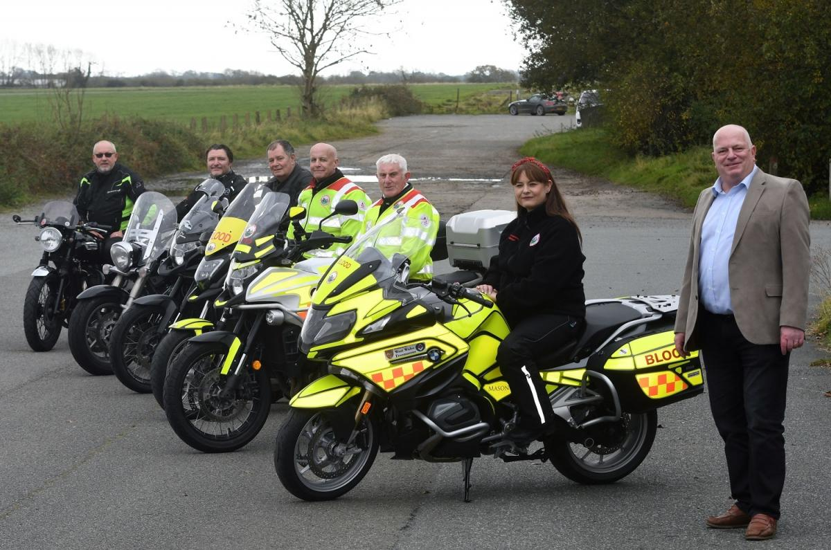West Wales Freemasons fund new bike for local charity