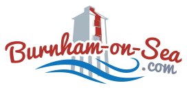 England - Burnham-On-Sea town centre given a dash of colour thanks to Freemasons