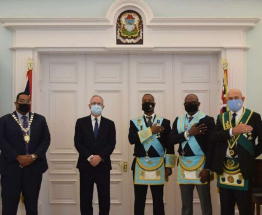 Bermuda - Peppercorn Ceremony held at Government House