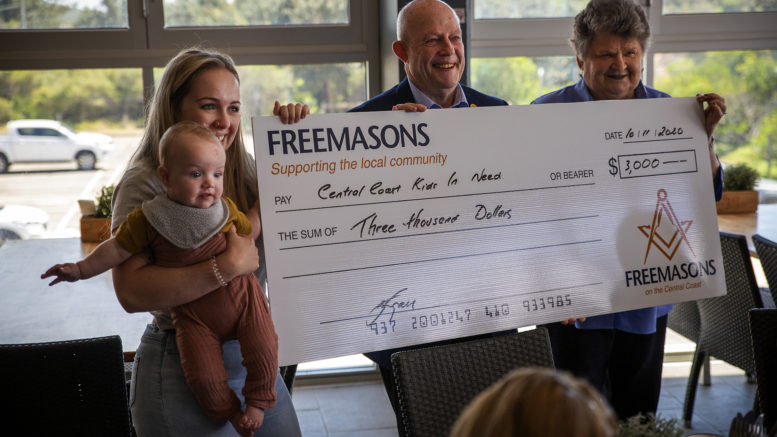 Australia - Freemasons continue their support for CCKIN and SOKS
