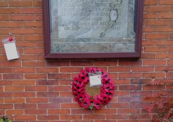 England - Residents battling to save community war memorial appeal for support