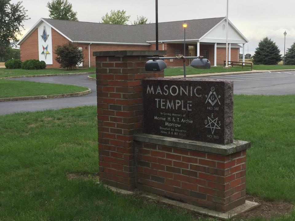 Ohio/U.S. - North Baltimore Freemasons Lodge 561 selling memorial bricks