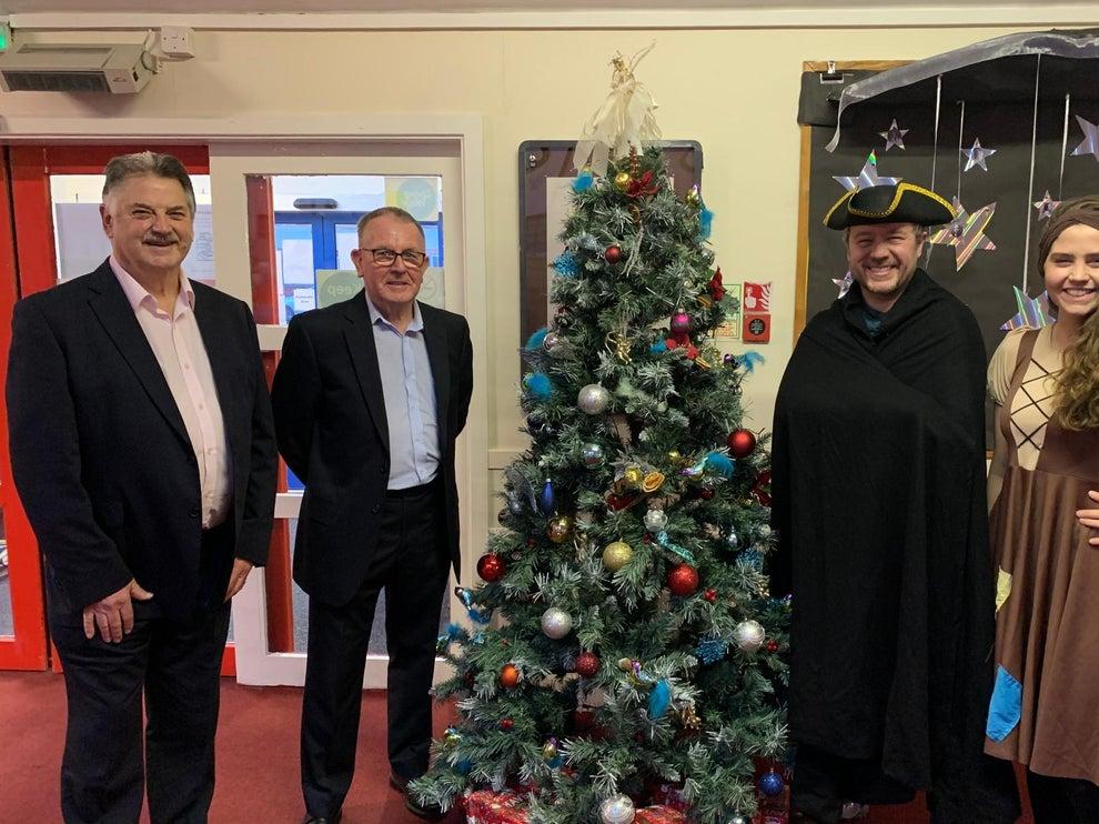 England - Freemasons save Christmas pando - Oh yes they do!