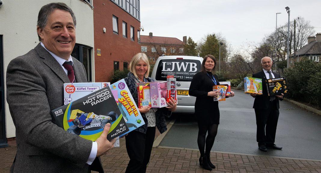 England - Leeds Freemasons answer call to bring festive cheer to city's children's charities