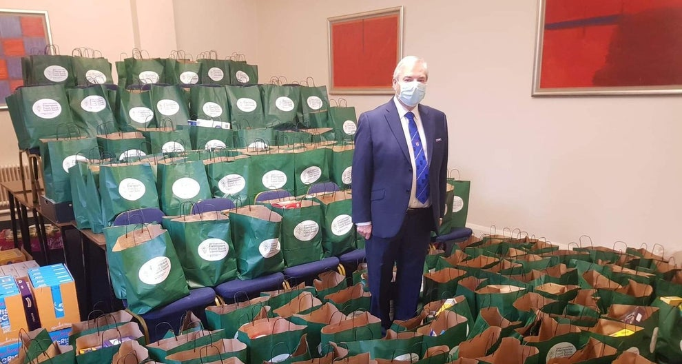 England - Preston's Masonic Lodges have donated thousands of items to help families in the city