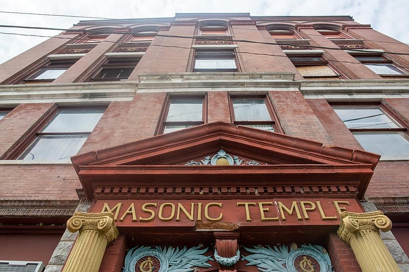 Arkansas/U.S. - Grand Masonic Temple still stands vacant after years as meeting place