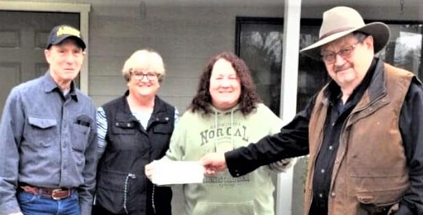 California/U.S. - Masons make donation to Cottonwood Community Center