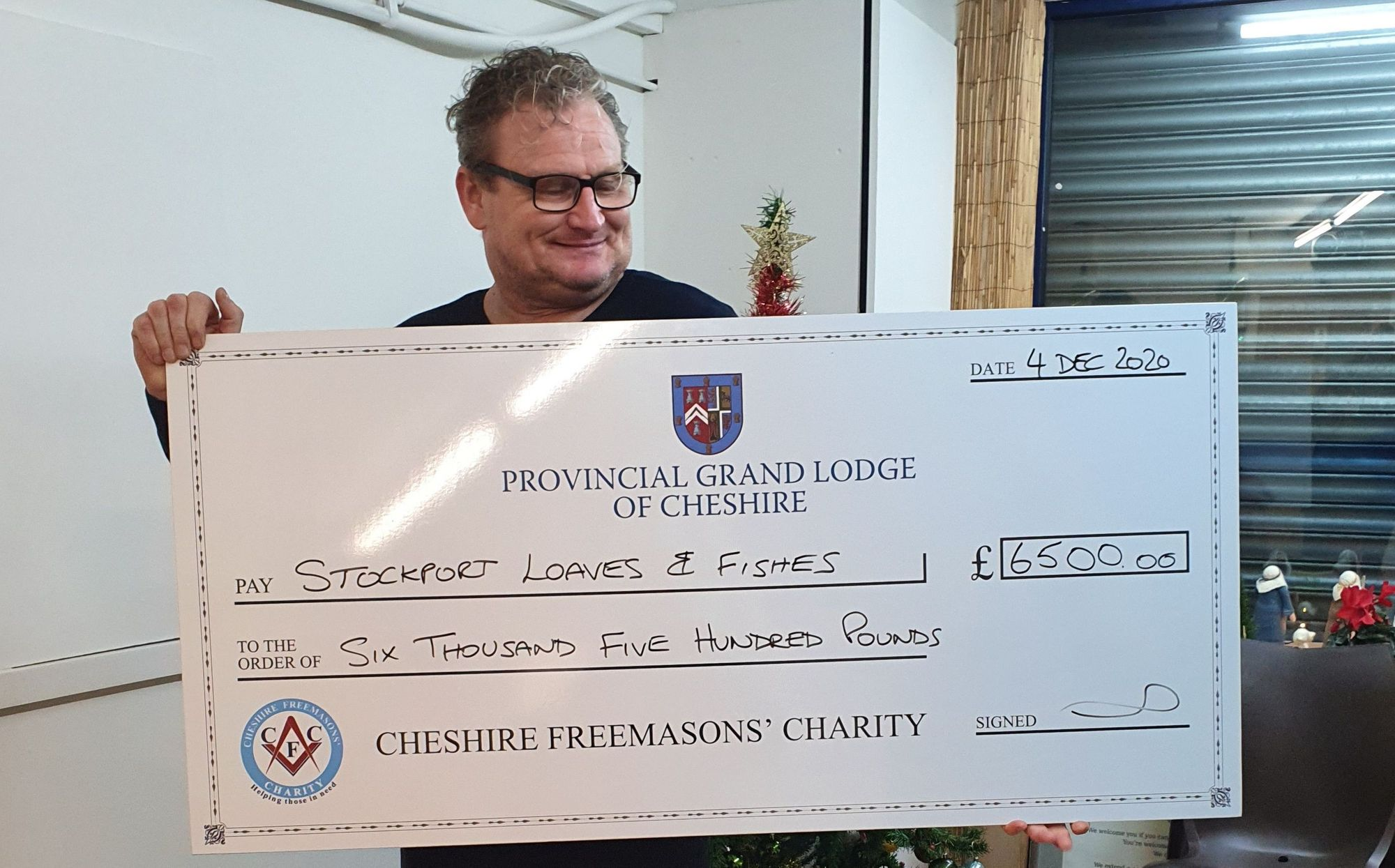 England - Stockport homelessness charity receives £6,500 funding support