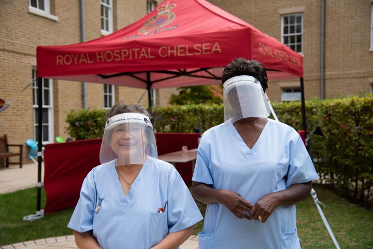 Donation to Royal Hospital Chelsea and Woodford Hospices part of £1m from London Freemasons