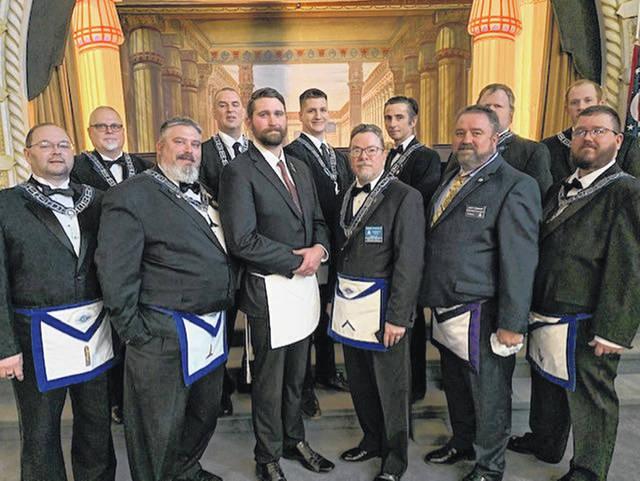 Ohio/U.S. - Masons hold Annual Inspection