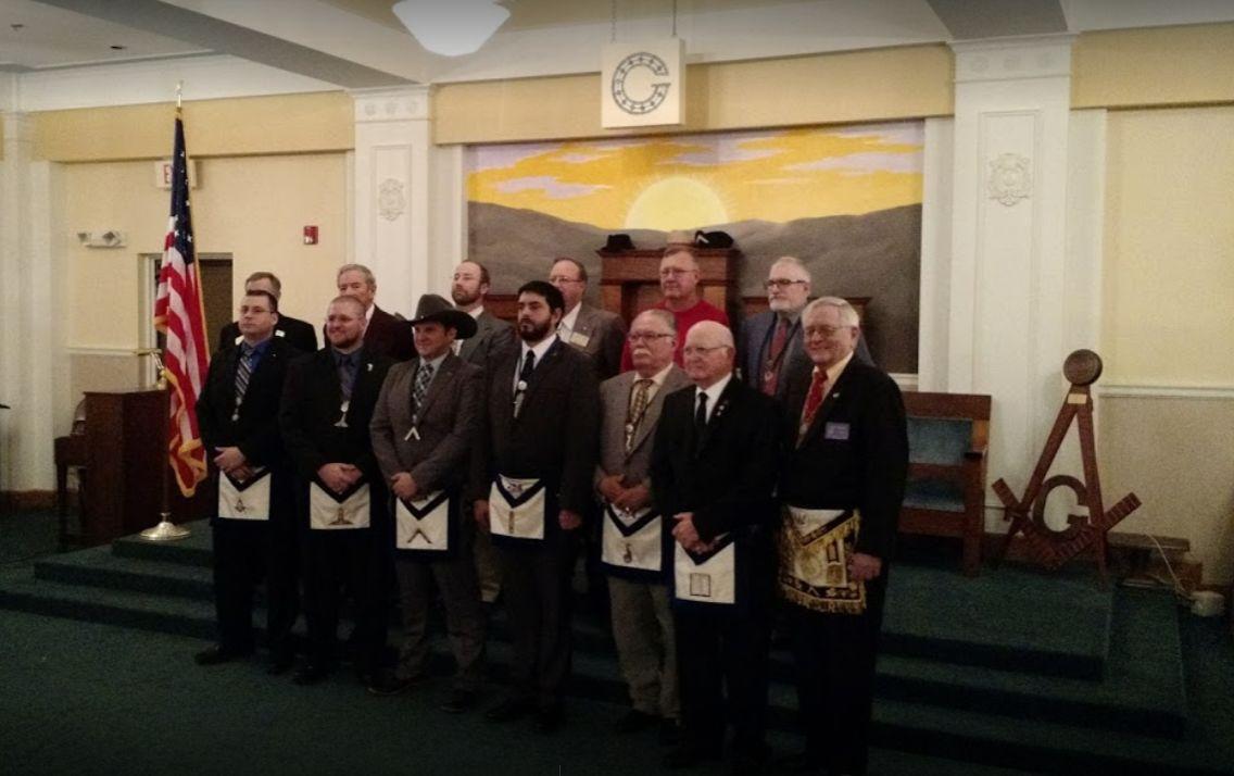 Oklahoma, U.S. - The Bartlesville Masonic Lodge recognizing local heroes
