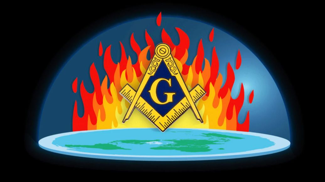 Flat Earther Busted in Freemason Arson Spree