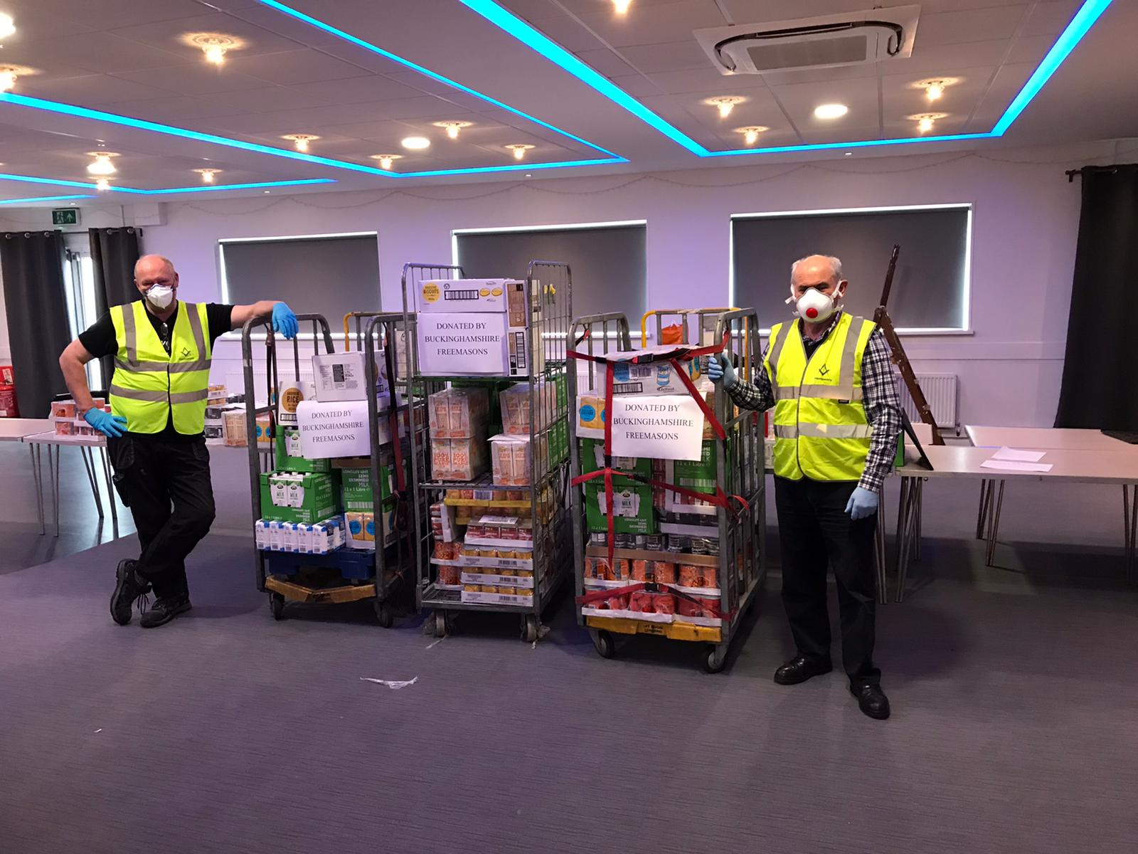 England - Freemasons charity endeavours during Covid 19 include 18 million hours of volunteering