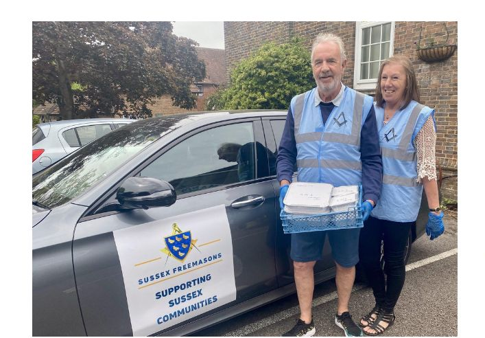 England - Sussex Freemasons help those in need across Mid Sussex