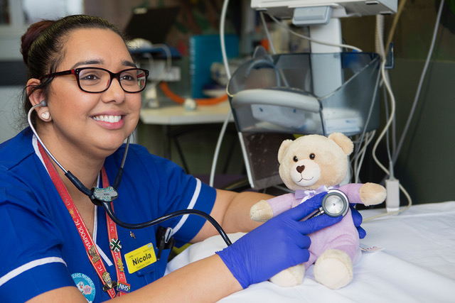UGLE - Over 29,000 Teddies for Loving Care donated to Bedford and L&D hospitals
