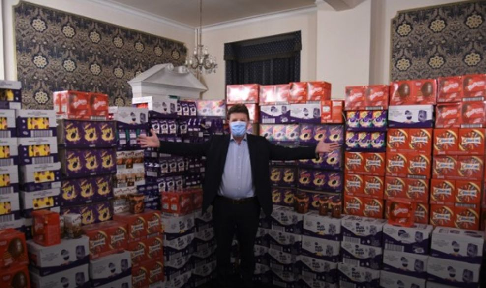 England - Homeless children in Warwickshire to get a taste of Easter thanks to Freemasons appeal