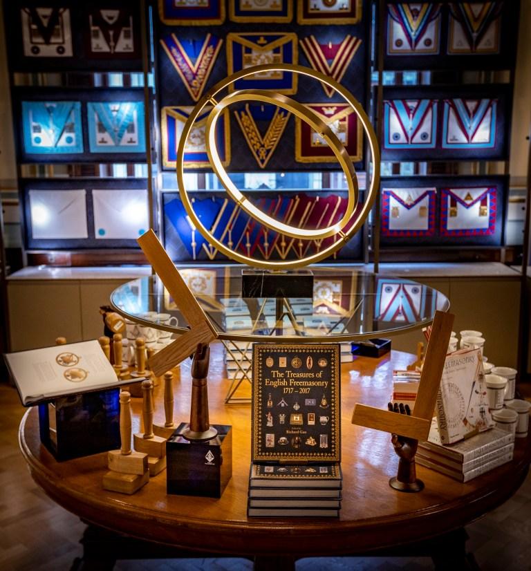 London/England - Shop at Freemasons' Hall honoured at Cultural Enterprises Awards 2021