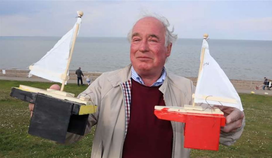 England - Freemasons launch The Great East Kent Boat Race from five Kent beaches