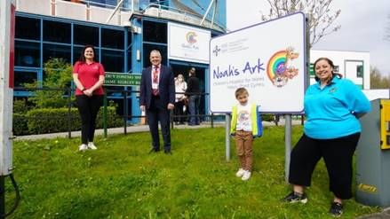 Wales' only children's hospital will continue vital play service, thanks to Freemasons grant