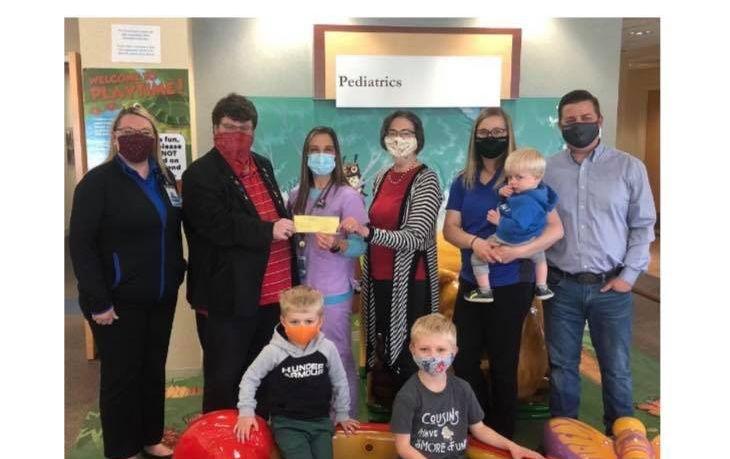 Minnesota/U.S. - Winona Area Masonic Bodies Partner with Winona Health to Provide A Book for Every Newborn