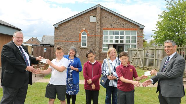 Wisbech, England - £1,000 donation will help bring school swimming pool back to life