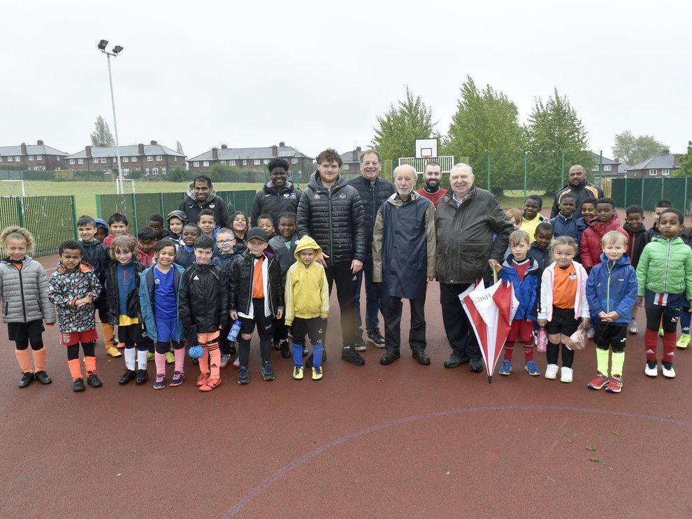 Yorkshire/England - Junior football club's 'relief' at Freemason's donation