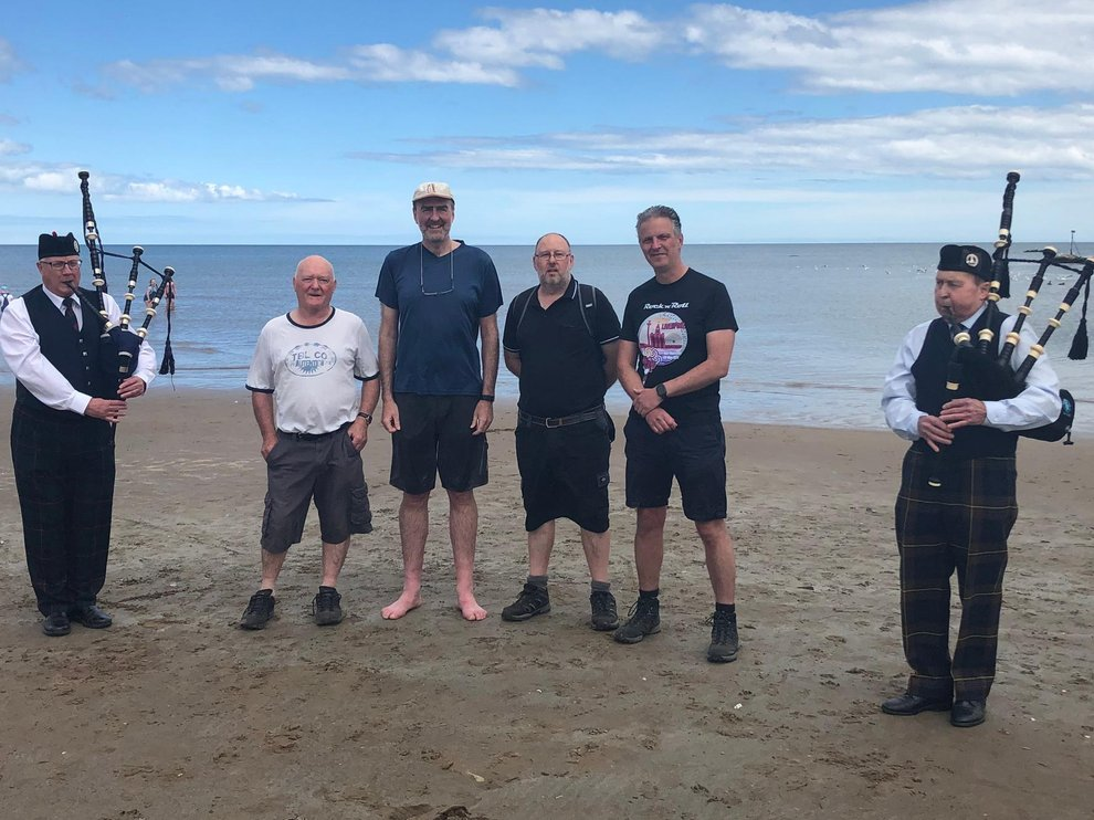 Scotland - Freemasons raise thousands for good causes with Oban to Fife walk